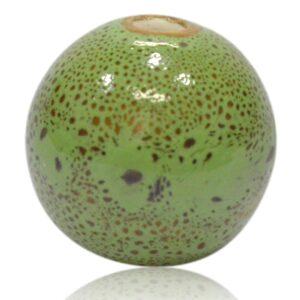 Grøn porcelænskugle til MY lysestager