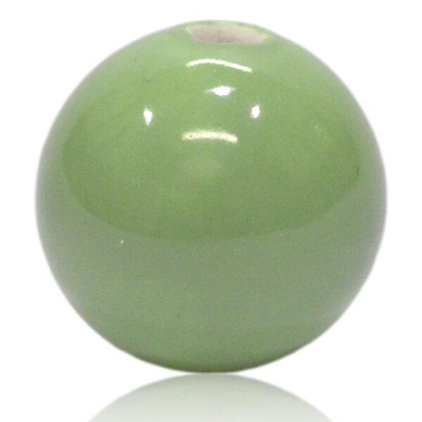 Grøn porcelænskugle til MY lýsestager