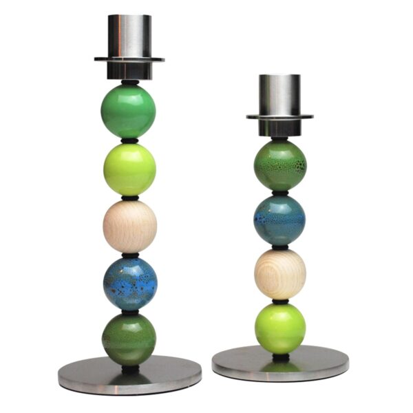 Design yuor own candlestick with beads